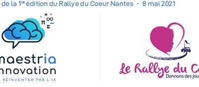 Sponsor de la 1ère édition du Rallye du Coeur Nantes